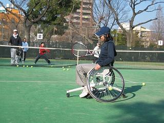 車椅子テニス2